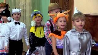 Видеосъемка утренника Новый год  2015-2016  Киев(Новогодний утренник в 1-Б классе Школа-деткий сад