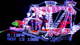Disneyland's Main Street Electrical Parade MSEP (Nov. 13, 1996) - 22 years ago today | Home Video