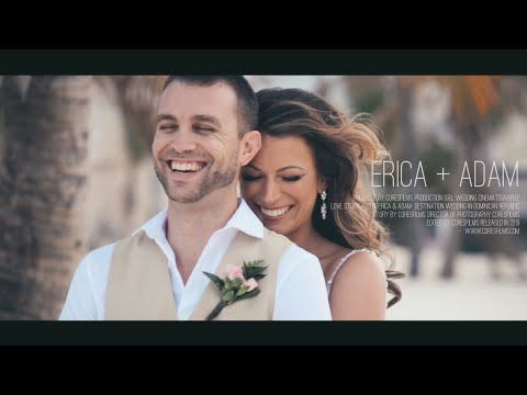Jellyfish Punta Cana Wedding. Feature Film. Erica + Adam.