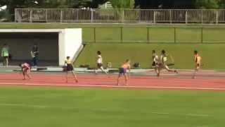 2015 09 05 長野県選手権 4×100mR 決勝