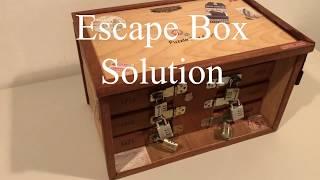 Escape Box  Walk Through  Puzzle Company