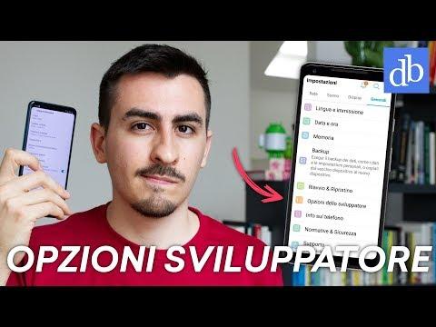 LE IMPOSTAZIONI SEGRETE DELLE OPZIONI SVILUPPATORE ANDROID!