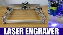 Eleksmaker EleksLaser A3 Pro Laser Engraver Build, Test & Review - 2018