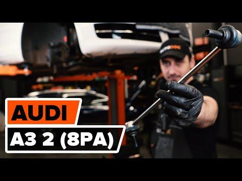 Cómo cambiar los bieletas de suspensión delantero en AUDI A3 2 (8P1) [VÍDEO TUTORIAL DE AUTODOC] from YouTube · Duration:  2 minutes 55 seconds