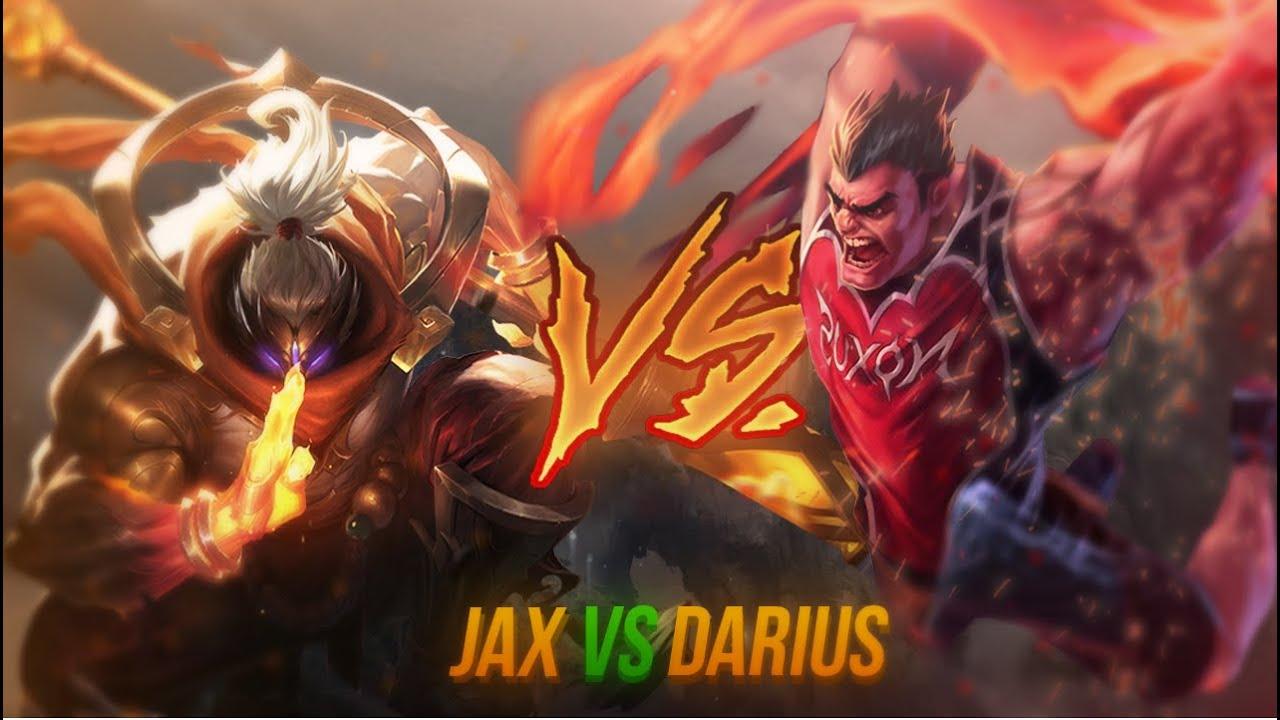JAX X DARIUS (MATCHUP EXPLICATIVA) NICK LINK X BERG.