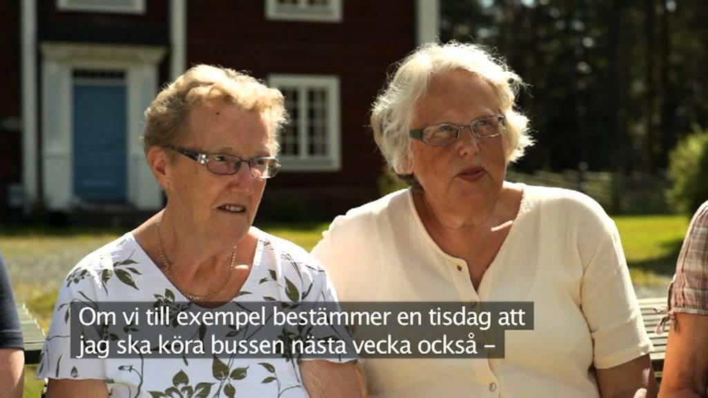 Byabussen - med svensk text