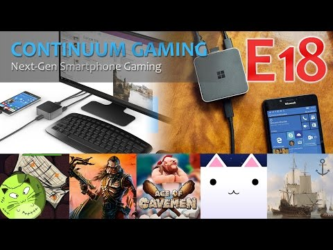 Microsoft Continuum Gaming: Let's Play 18! (London Subway Simulator, Garden Island, Indian Strife)