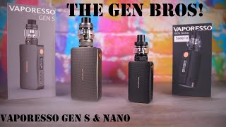 That Old School Feel! Vapoŗesso Gen S and Gen Nanon Review! VapingwithTwisted420