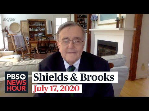 Shields and Brooks on Trump's declining support, Biden's campaign strategy