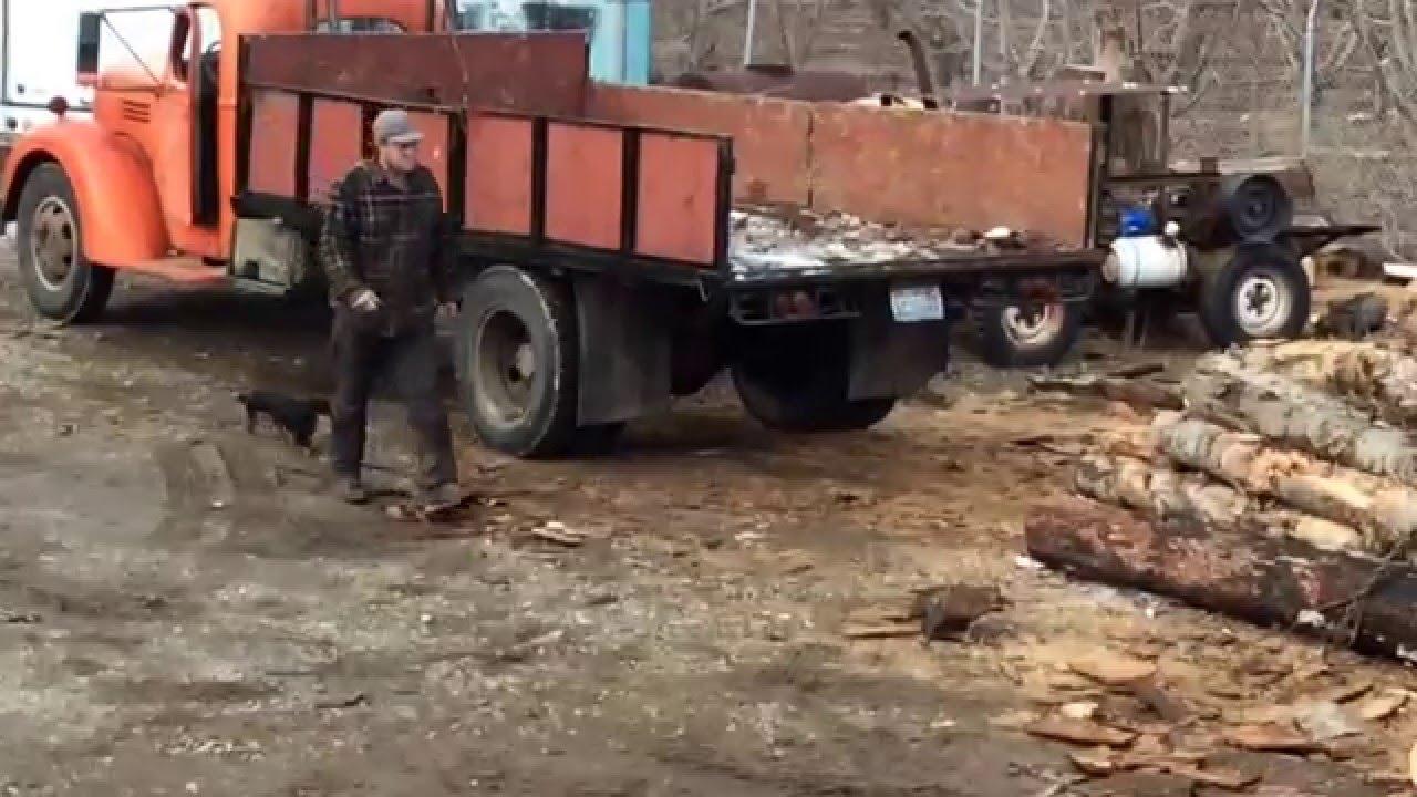 1945 Ford Truck >> 1945 Inernational IH Custom Cable Dump Log Truck 2 Ton ...
