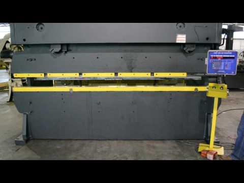 Standard Industrial AB200-12 200 Ton x 12' Hydraulic Press Brake w/ Automec CNC 150 Back Gauge