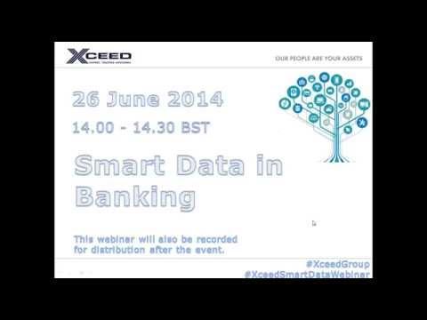Xceed's 'Smart Data for Banking' webinar