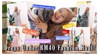 Shopping Yang Murah SAHAJA! Try On Haul! screenshot 3