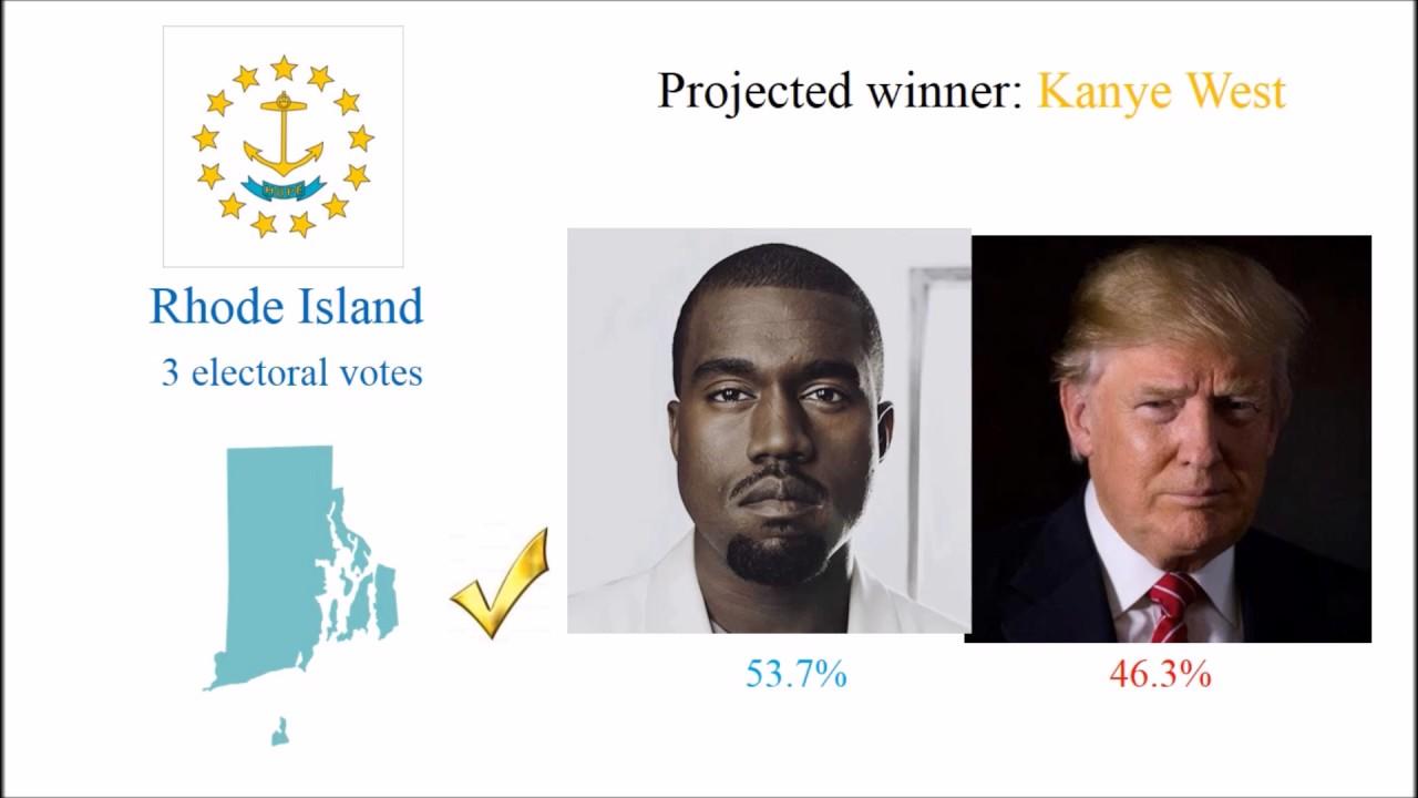 election night  president trump  kanye west youtube