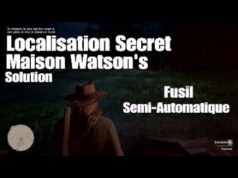 Red Dead Redemption 2 Watsons Blockhutte Karte.Red Dead Redemption 2 Maison Watson S Secret Localisation Solution