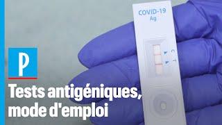 Ces tests antigéniques plus rapides mais moins fiables que les tests PCR