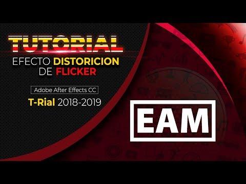 Efecto Distorsión Usando El Efecto Flicker Adobe After Effects - Tutorial 2018 En Español | EAM