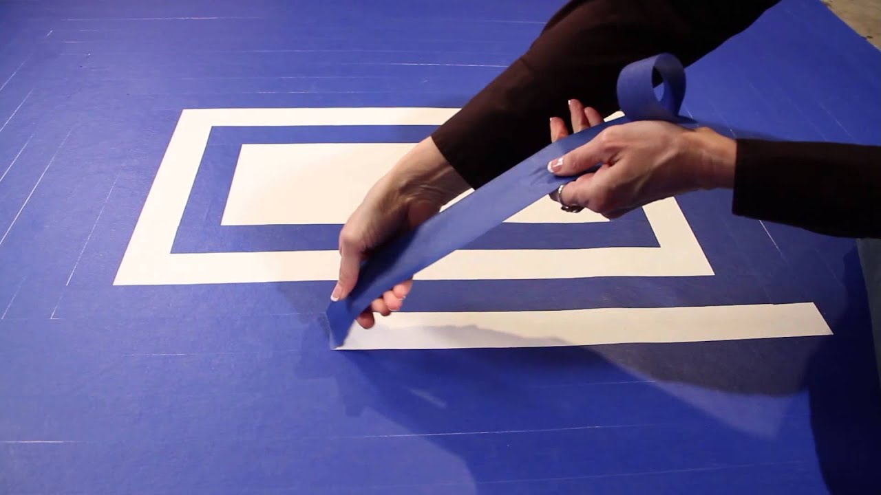 Ipg Tape By Design Floor Cloth Youtube