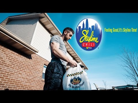 SKYLINE MENU CHALLENGE (& TOUR)