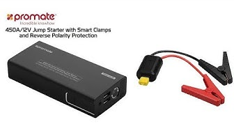 Khui hộp nhanh cục pin dự phòng Promate Patrol-2 có khả năng kích bình điện xe hơi