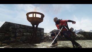 【skyrim】1H Sword Normal attack Animation