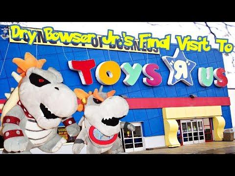 Dry Bowser Jr.'s Final Visit To Toys R Us