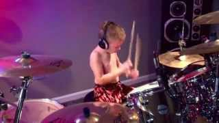 """Through The Never, Metallica"" boy 6 year old Drummer ( 2013 ° ) HD"