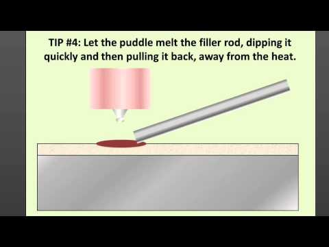 Basics Of Tig Welding Aluminum 6 Tips For Adding Filler
