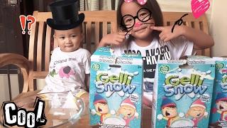 Zara Cute Membuat Olaf Frozen dari Gelli Snow | review Gelli Snow