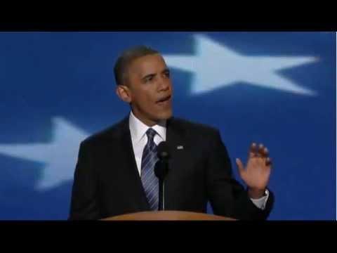 President Barack Obama Full DNC Acceptance Speech 2012