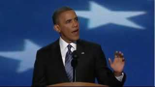 President Barack Obama Full DNC Acceptance Speech 2012