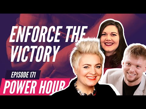 """""""Enforce the Victory""""   POWER HOUR   Ep.171 - 14 Sept. 2021"""