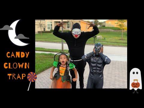 the-candy-clown-trap-|-happy-halloween-|-logan's-playhouse