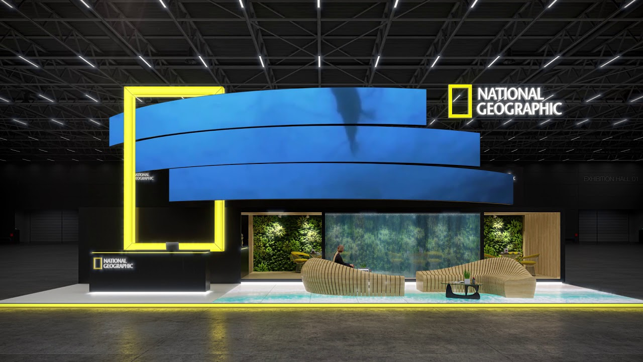 Exhibition Stand Trends 2018 : Exhibition stand design for national geographic youtube