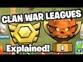 "HOW WILL CLAN WAR LEAGUES WORK? + NEW REWARDS!! - ""Clash of Clans"""