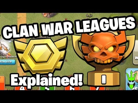 HOW WILL CLAN WAR LEAGUES WORK? + NEW REWARDS!! -