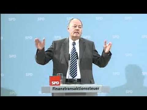 Peer Steinbrueck zur Finanztransaktionssteuer