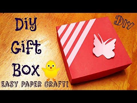 DIY Gift Box | How To Make Gift box Box ?Teacher's day greeting card/Handmade gift for teacher's day