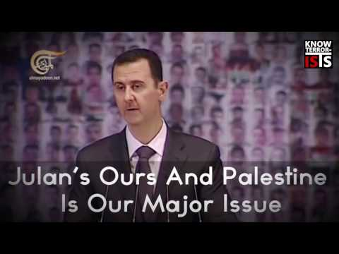 Bashar al Assad and the Palestine issue