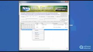 BhoScanner video demo
