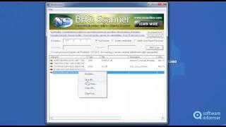 BhoScanner video demo