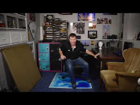 Art3d Liquid Encased Office Chair Mat For Carpet &  Hardwood Floor Chair Mat