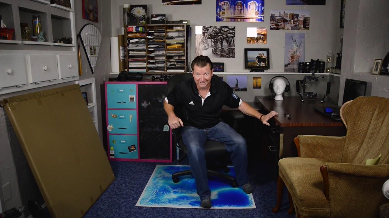 Art3d Liquid Encased Office Chair Mat for Carpet u0026 Hardwood Floor Chair Mat & Art3d Liquid Encased Office Chair Mat for Carpet u0026 Hardwood Floor ...