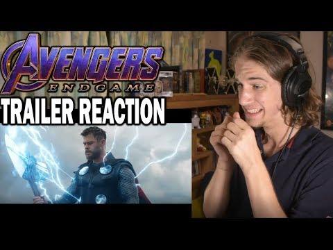 Avengers: Endgame | Official Trailer #2 - REACTION!!!