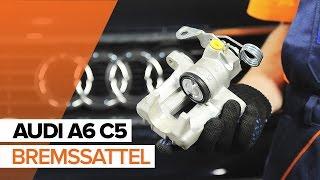 Wie Bremszange AUDI A6 Avant (4B5, C5) wechseln - Online-Video kostenlos