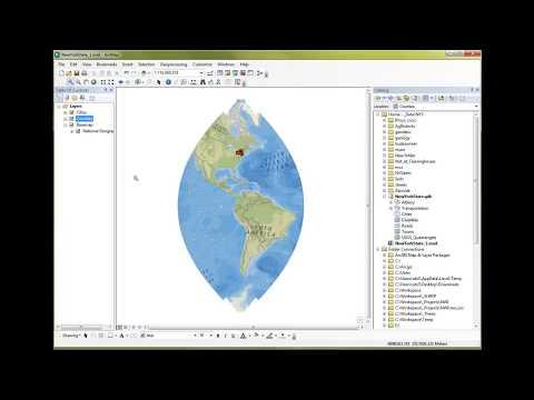 ArcGIS10 Basics 1 of 4