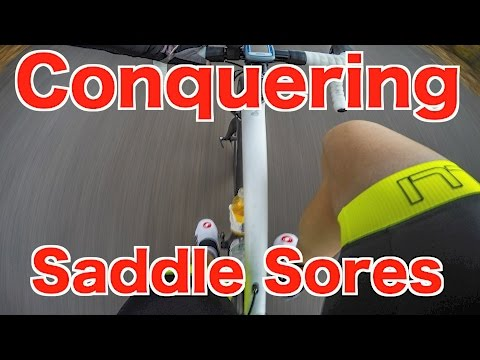 "Conquering Saddle Sores  ""Cycling Tips"""