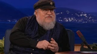 George RR Martin Red Wedding Interview on Conan!