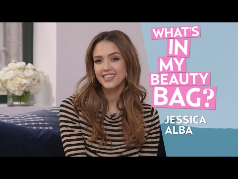 Jessica Alba | What's in My Beauty Bag?