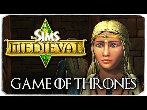 The Sims Medieval: ИГРА ПРЕСТОЛОВ (ДЕЙНЕРИС)